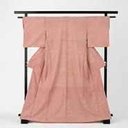 網模様の着物
