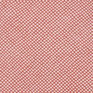 網模様の生地