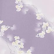 薄い紫色ベースの生地
