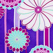 紫ベースの生地