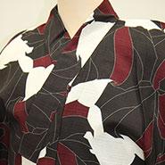 茶色ベースの袴