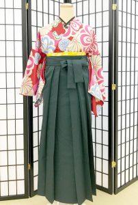 京都レンタル着物散策袴プラン01