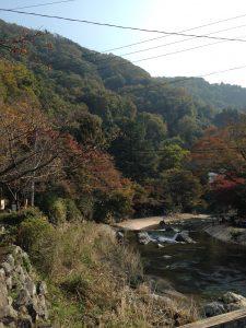 秋の京都 八瀬比叡山口