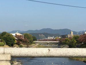 京都、秋の高野川