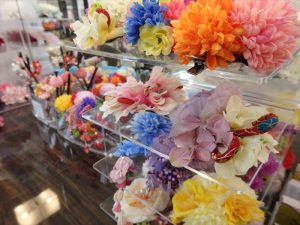 京都着物レンタル花かんざし小物