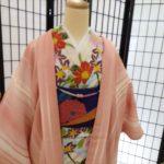 京都着物レンタル花かんざし羽織コーディネート例