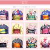 京都着物レンタル花かんざし浴衣サンプル
