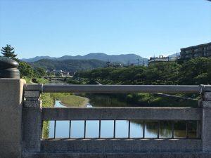 京都着物レンタル花かんざし 夏の日差し