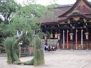 京都着物レンタル花かんざし 茅の輪くぐり