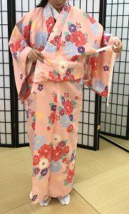 京都着物レンタル花かんざし 簡易着物2