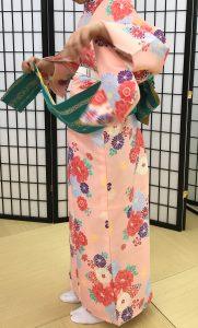 京都着物レンタル花かんざし 簡易着物1
