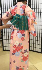 京都着物レンタル花かんざし 簡易着物3