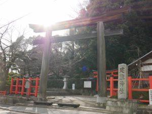 京都着物レンタル花かんざし 建勲神社