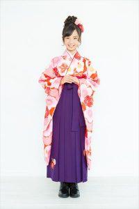 京都着物レンタル花かんざし 新作袴2017小学生