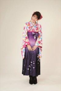 京都着物レンタル花かんざし 新作袴2017学生