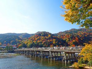 京都着物レンタル花かんざし 秋晴れ
