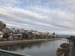 京都駅からひと駅花かんざ 四条大橋