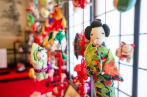 京都駅からひと駅花かんざし つりびな