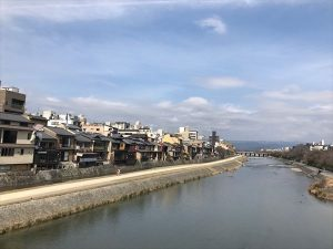 京都駅からひと駅花かんざし 四条大橋