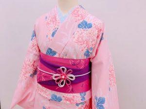 京都着物レンタル花かんざし 帯飾りキャンペーン