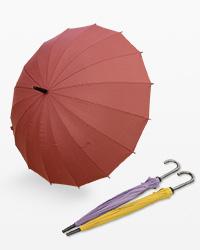 急な雨でも安心置物に似合う傘